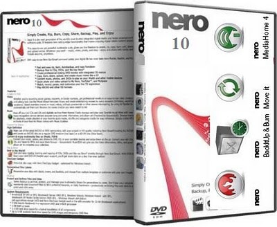 Download: nero 10 full version + serial keygen + covers xron.